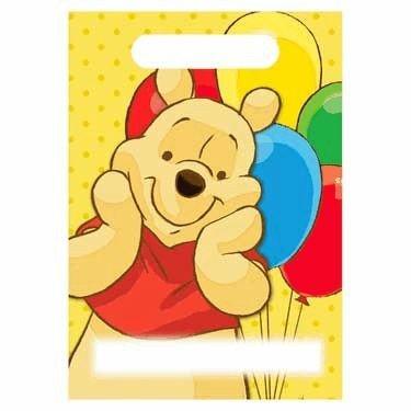Winnie The Pooh Treat Sack - 8/Pkg.