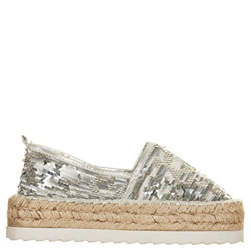 Colors of california , Damen Espadrilles weiß Bianco