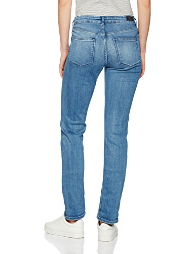 Scotch & Soda Maison Supreme-Eternal Blue, Vaqueros Slim (Estrechos) para Mujer Blau (eternal Blue 4f)