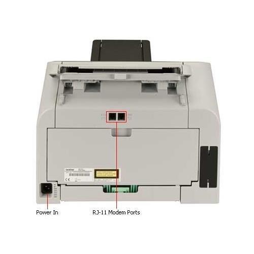 Brother FAX-2840 Mono Laser - Brother IntelliFax 2840 Mono Laser MFP (21ppm Print/21cpm Copy) (16MB) (8.5''x14'') (2400x600 dpi) (USB) (Energy Star) (250 Sheet Input Capacity) (20 Sheet ADF)