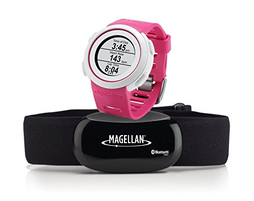 Magellan Echo Smart Sports Watch with Heart Rate Monitor-Bluetooth Smart (Pink) by Magellan