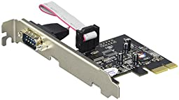 SIIG DP 1-Port RS232 Serial PCIe with 16950 UART (JJ-E01111-S1)