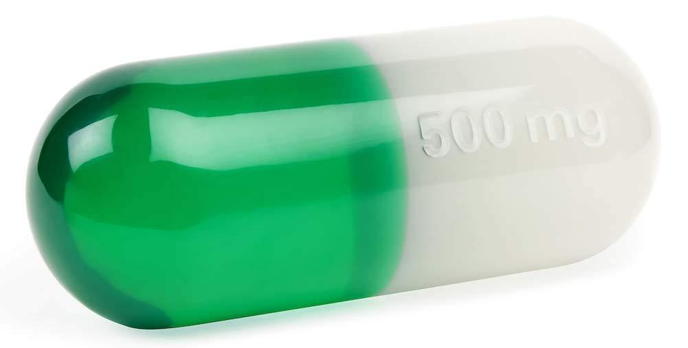 Jonathan Adler - Lucite Pill - Large - Green