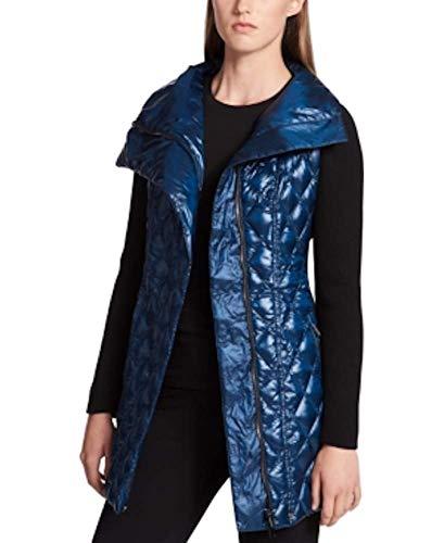 Calvin Klein Performance Quilted Diamond Walker Jacket Women's (S, Metallic - Metallic Quilted Jacket