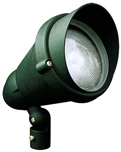 Dabmar Lighting DPR42-HOOD-G Par 38 Hooded Spot Light, Green Finish