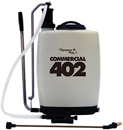 Sprayers Plus Commercial Double-Lipped Internal Piston Sprayer, 5.3 gal