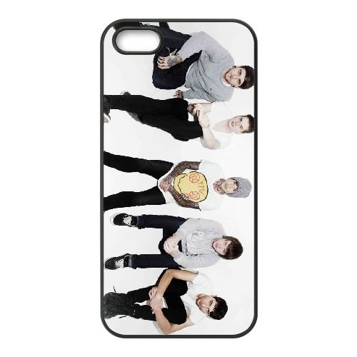Bring Me The Horizon 003 2 coque iPhone 4 4S cellulaire cas coque de téléphone cas téléphone cellulaire noir couvercle EEEXLKNBC23801