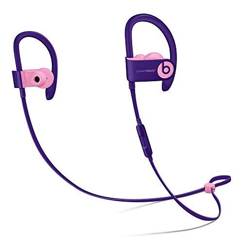 Beats Powerbeats3 Wireless Pop Violet Pop Collection in Ear Headphones MREW2LL/A (Renewed)