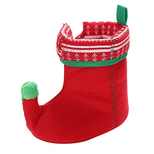 MIS1950s Christmas Toddler Baby Girls Boys Flock Winter Warm Snow Boots Kids Walking Shoes