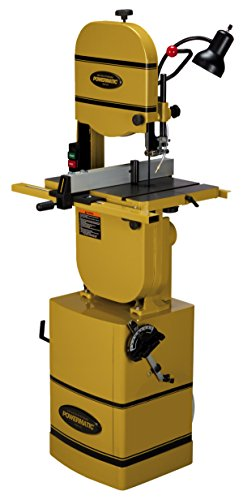 Powermatic 1791216K Model PWBS-14CS Deluxe 14-Inch 1-3/4-Inch Woodworking Bandsaw with Bearing Guides, Lamp, and Chip Blower, 115/230-Volt 1 Phase by Powermatic