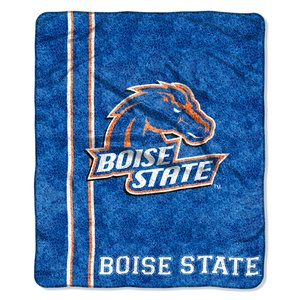 (The Northwest Company Officially Licensed NCAA Boise State Broncos Jersey Sherpa on Sherpa Throw Blanket, 50