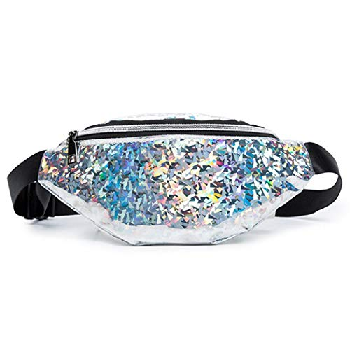 OYTRO New Fashion Women Sequin Waist Bag Satchel Hobos Handbag Tote Purse Waist - Purse Hobo Sequin