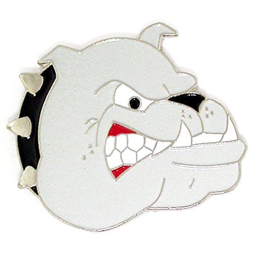 - PinMart's Bulldogs School Mascot Sports Enamel Lapel Pin