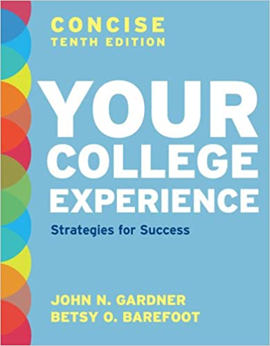 Amazon your college experience concise tenth edition your college experience concise tenth edition strategies for success 10th edition fandeluxe Choice Image