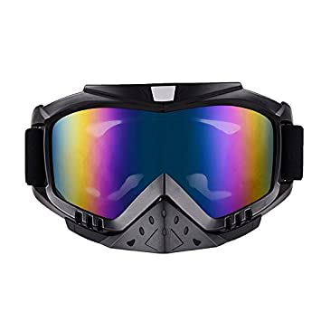 Adult Motorcycle Off-Road Dirt Bike Street Bike ATV/&UTV Cruiser Adventure Touring Snowmobile Goggles Mask