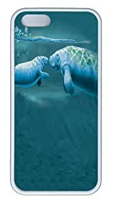 iPhone 5S Cases & Covers -Year of the Manatee TPU Custom iPhone 5/5S Case Cover Whtie