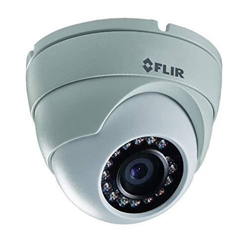 FLIR Digimerge N133EB Outdoor IP Security Dome Camera, 1MP HD IP, 3.6mm, 70ft Night Vision, Works with Onvif, Lorex, Flir NVR, White (Camera Only)