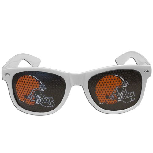 NFL Cleveland Browns Game Day Shades, White