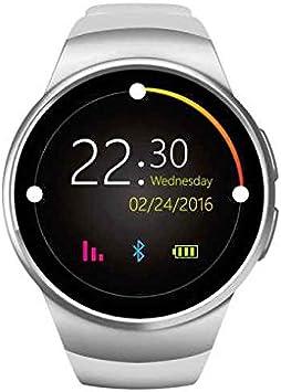 Reloj inteligente con Bluetooth,Smartwatch fácil de usar,deportivo podómetro,Contadores de calorías,Smartwatch anti-perdida,la vida impermeable Reloj deportivo pare Android Smartphone Samsung HTC Sony LG iPhone: Amazon.es: Deportes y aire libre