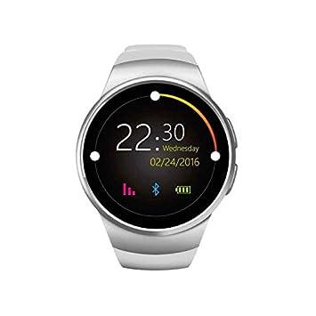 Reloj inteligente con Bluetooth,Smartwatch fácil de usar,deportivo podómetro,Contadores de calorías