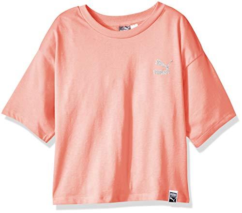 (PUMA Toddler Girls' Crop Top, Shell Pink)