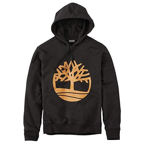 3b3c0236ddc9 SHOPUS | Timberland Men's Seasonal Logo Hoodie Sweat Black Tree ...