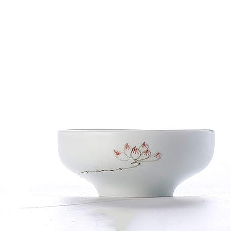 Tazón De Cerámica Japonés Para El Hogar Cubiertos De Vajilla Cuenco Cubiertos Pintados A Mano Comedor