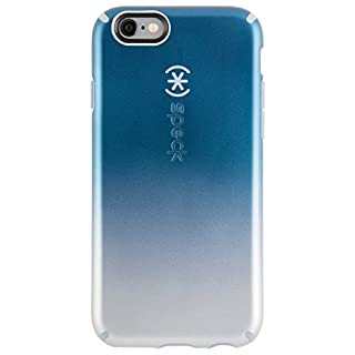 Speck Products CandyShell Inked Luxury Edition Case for iPhone 6 Plus/6S Plus - Retail Packaging-Silver Ombre/Nickle Grey