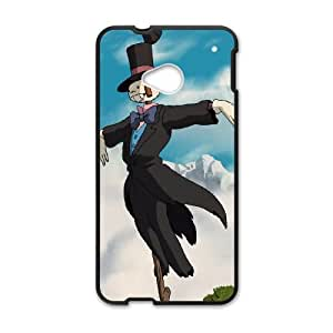 Howl's Moving Castle HTC One M7 Cell Phone Case Black JU0039572