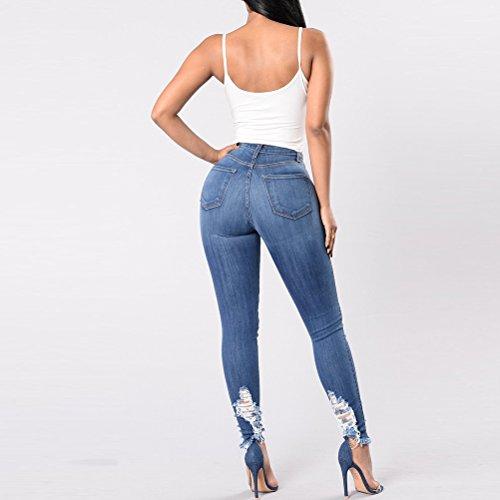 Strappati Denim Taglie Delle Progettista Boyfriend Magro Signore Stile Jeans Zhuhaitf Forti Blue Pantaloni Donna Freddo nwq0Ug0aH