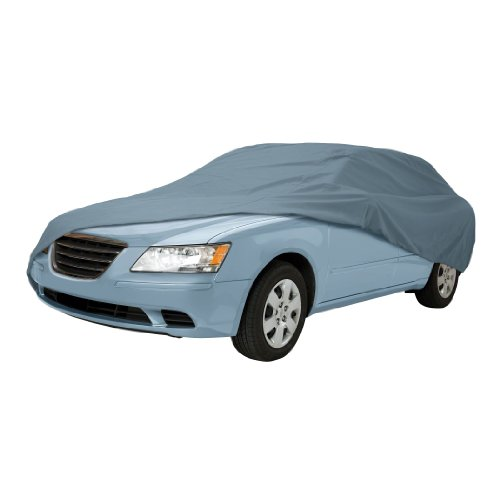 Classic Accessories 10-012-251001-00 OverDrive PolyPro I Mid Size Sedan Car Cover