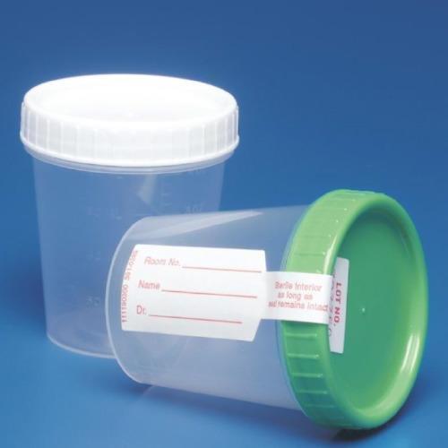 COVIDIEN/MEDICAL SUPPLIES GENERAL PURPOSE SPECIMEN COLLECTION Specimen Container, 4 oz, Non-Sterile, White Cap, 500/cs (24 ()