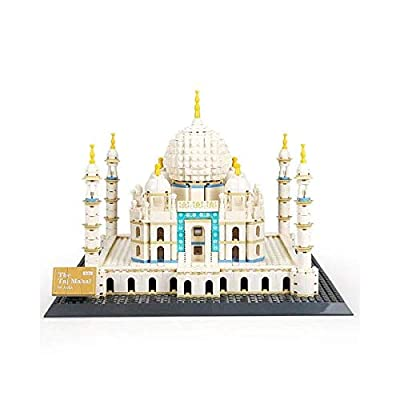 Happy Town Toys Taj Mahal of Agra India Architecture Building Blocks Brick Set: Toys & Games