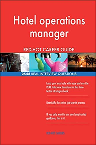 Hotel operations manager RED-HOT Career Guide