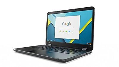 "Lenovo Ideapad 14"" HD LED-Backlit Chromebook Laptop, Intel N3060 up to 2.48GHz, 4GB RAM, 16GB SSD, Webcam, WiFi, Bluetooth 4.1"