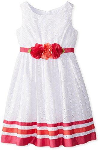 Rose Eyelet Dress - 7