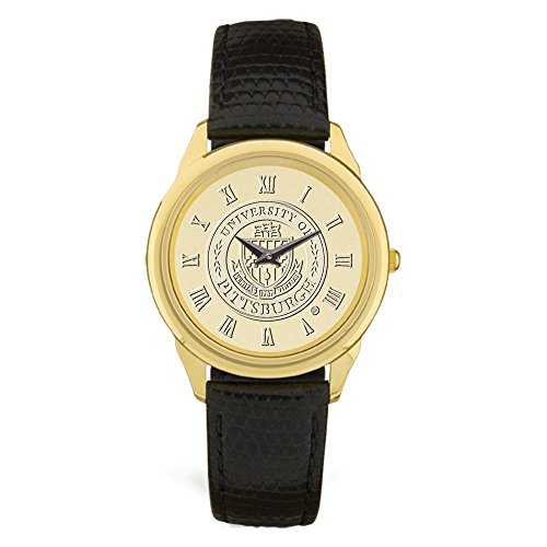 AdSpec NCAA Pittsburgh Panthers Men's Wristwatch, Gold, One Size