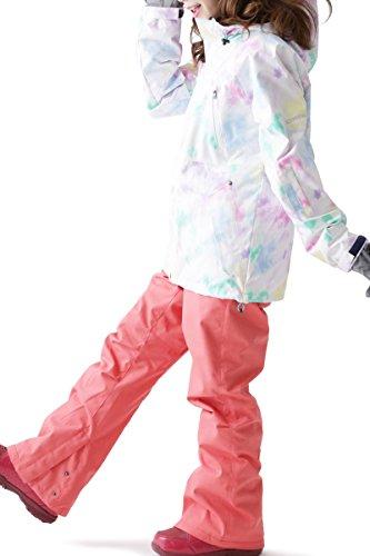 ICEPARDAL(アイスパーダル)全20色柄レディーススノーボードウェア上下セットICC-SETICC-1909号サイズ16-17新作スノボウェアスキーウェアウエア女性用おしゃれかわいいスノボーウェア