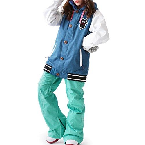 ScoLar(スカラー)全20色柄レディーススノーボードウェア上下セットSCB-SETSCB-0109号サイズ16-17新作スノボウェアスキーウェアウエア女性用おしゃれかわいいスノボーウェア