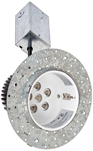 WAC Lighting HR-LED418-R-RO35 LEDme 4-Inch Recessed Downlight - Remodel Invisible Trim - Non-Ic Housing - 3500K