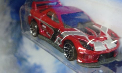 Hot Wheels Diecast 24/7 Tuner with Rear Wing – Mazda Rx7 Racer Scale 1/64