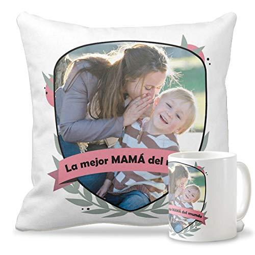 Getsingular Pack Taza + Cojín con Foto Día de la Madre ...