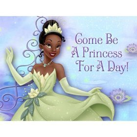Hallmark The Princess And The Frog Invitations - 8 ct