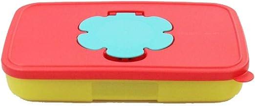 Tupperware 31253 - Caja para toallitas húmedas (650 ml), color rojo