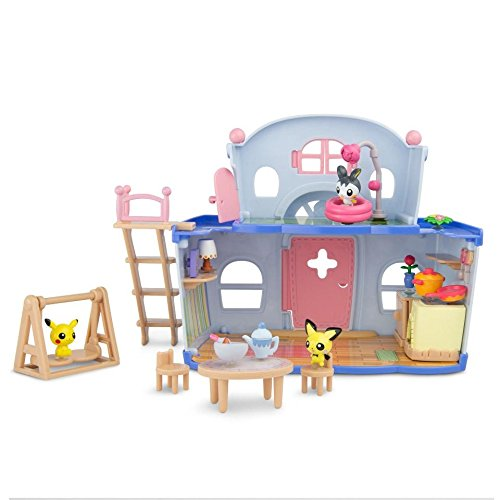 TOMY Pokemon Petite Pals House Party (Pokemon Playsets)