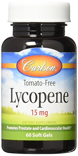 Carlson Labs Lycopene, 15mg, 60 Softgels