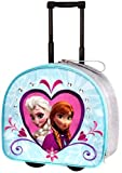 Disney Store Frozen Elsa/Anna Rolling Luggage