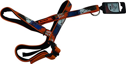 Nipper & Chipper X-Trm Dog Comfortable Harness, Anaranjado, M