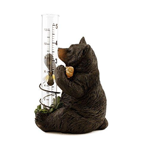 Mayrich Black Bear Rain Gauge by Mayrich
