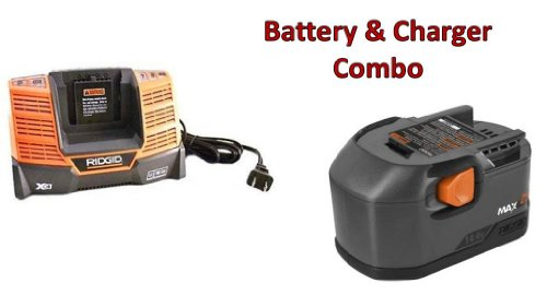 Ridgid R83015 Drill Replacement 14.4V NiCd MAX 1.9Ah Battery & Charger R840091 Combo # 130254002-BC-140154001